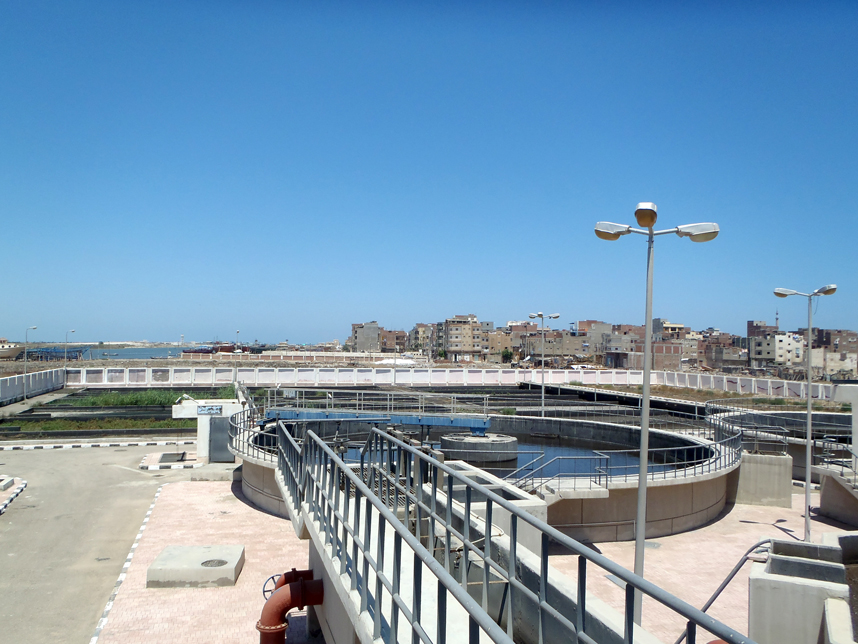 Wastewater treatment facility Egypt
