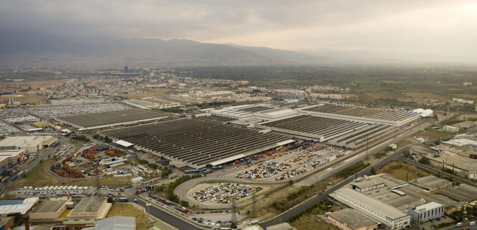 Tofas automotive factory, Turkey